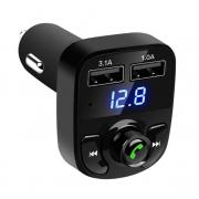 Transmissor FM Bluetooth Carro X8