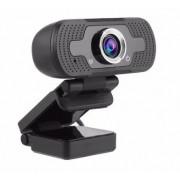 Webcam Full Hd 1080p Usb Mini Câmera De Computador - Preta
