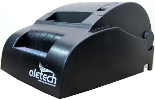 Impressora Térmica PARALELA 57/58mm Oletech Não-Fiscal OT100