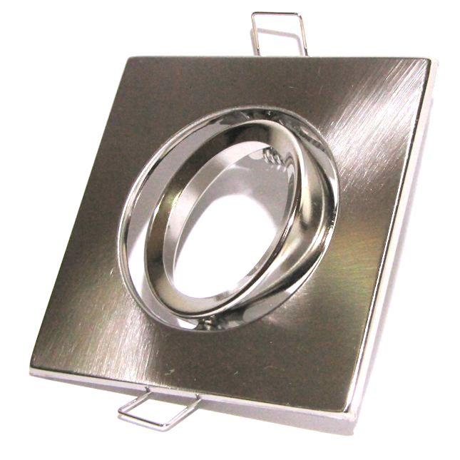 Spot Direcionável Quadrado Alumínio MR16