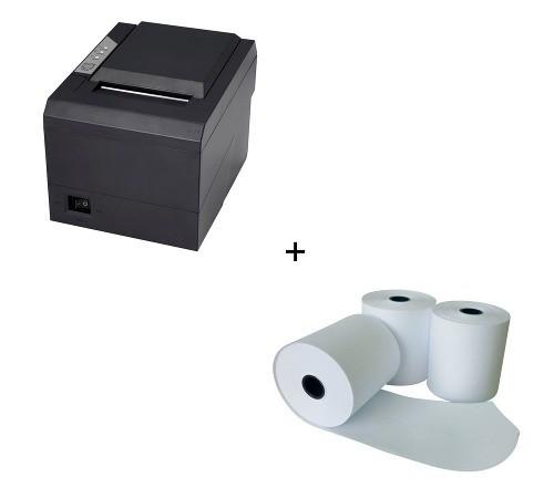 Impressora Térmica 80mm Ot550 Usb/com/lan + 10un Bobinas 80mm