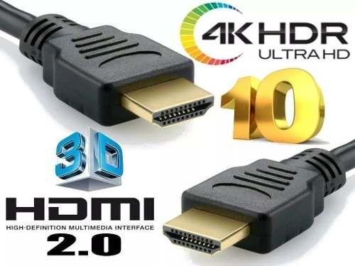 Kit Combo 1x Cabo Hdmi 10m + 1x Cabo Hdmi 3m