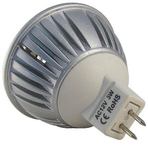 Lâmpada Led 3W Branco Quente MR16 GU5.3 12V Dimerizável