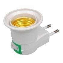 Adaptador de tomada para Lampada soquete E27