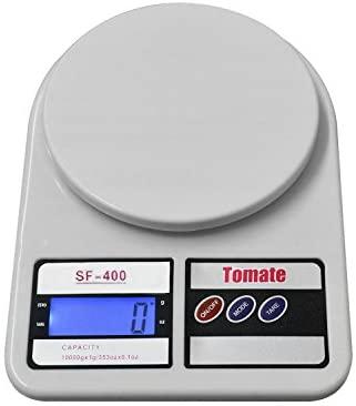 Balança de Cozinha Digital Eletrônica de Precisão Até 10kg- SF400