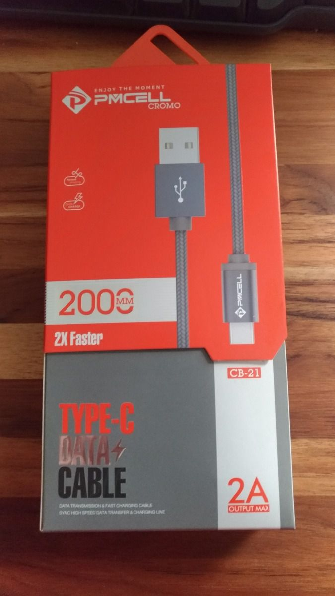 CABO DADOS TURBO USB | TIPO C 1M | PMCELL CROMO879 CB21
