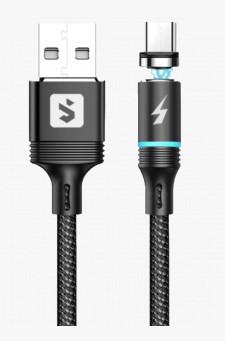 Cabo Micro USB V8 Magnético 2.4A 2m SX-B16V8 - Sumexr