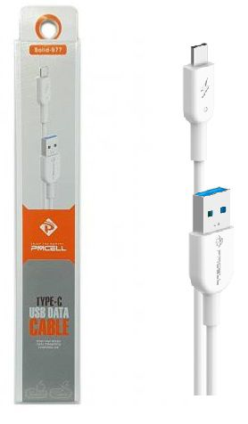 CABO TURBO USB   1M TIPO C   PMCELL SOLID999 CB11