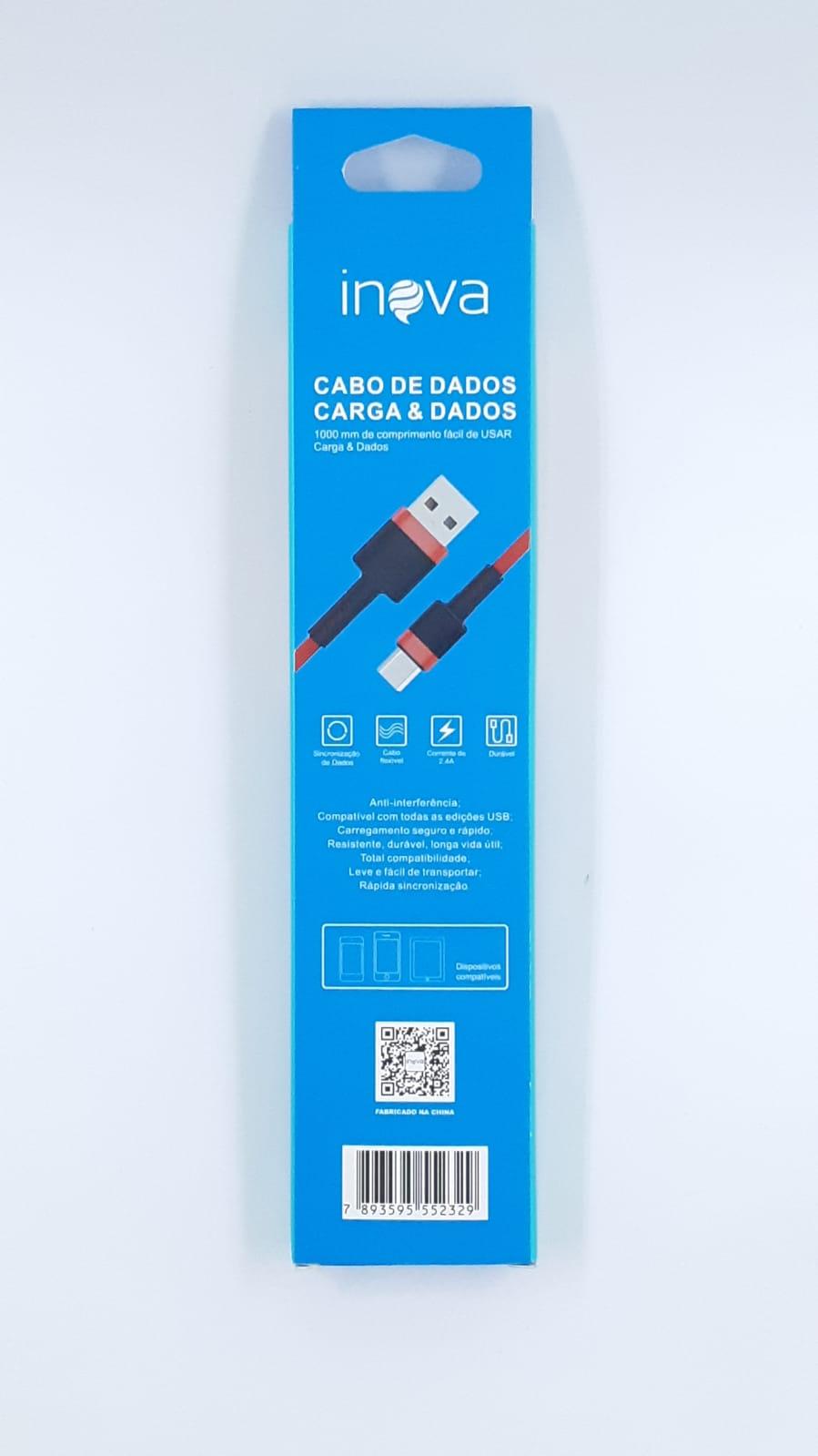 Cabo Turbo USB | 1m V8 | CBO-8718 Inova