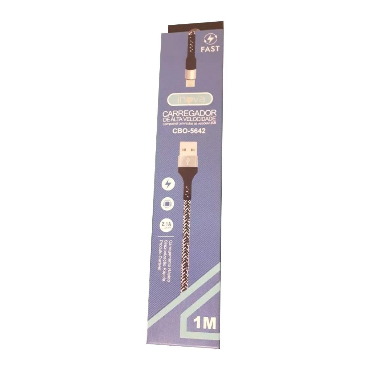 Cabo Turbo USB | 1m V8 | CBO-8398 Inova