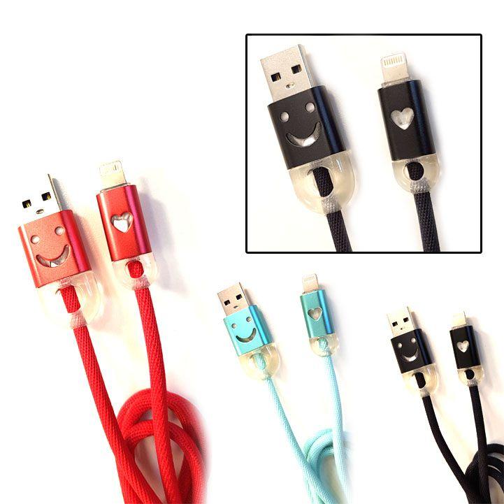 Cabo USB c/ Led | Iphone | Inova CBO