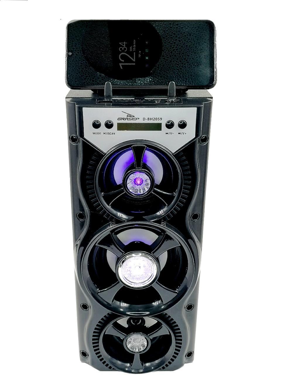Caixa de Som 10W RMS Bluetooth KP-BH2059 - GRASEP
