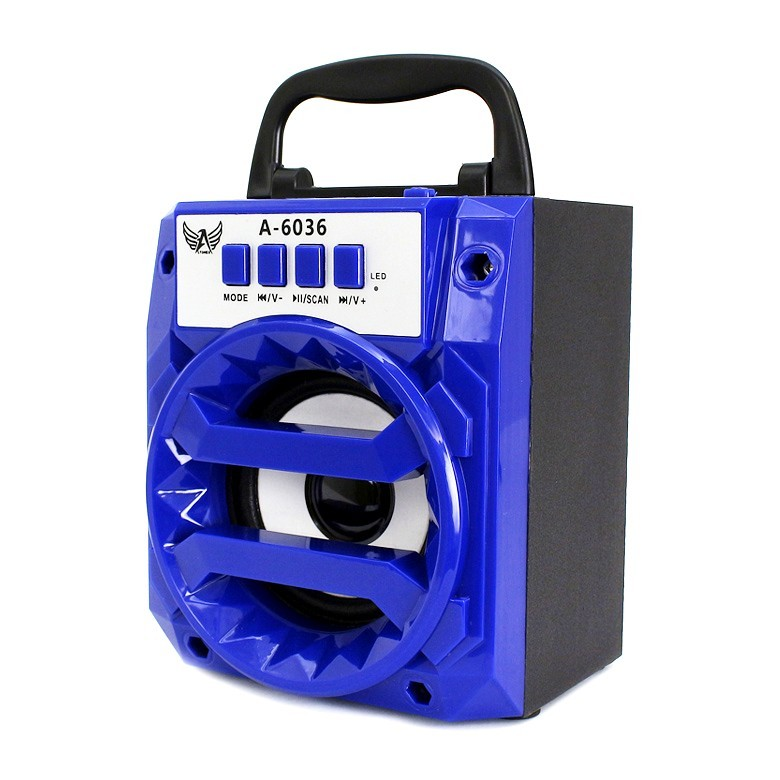 Caixa De Som Amplificada Usb Mp3 A-6036 -ALTOMEX