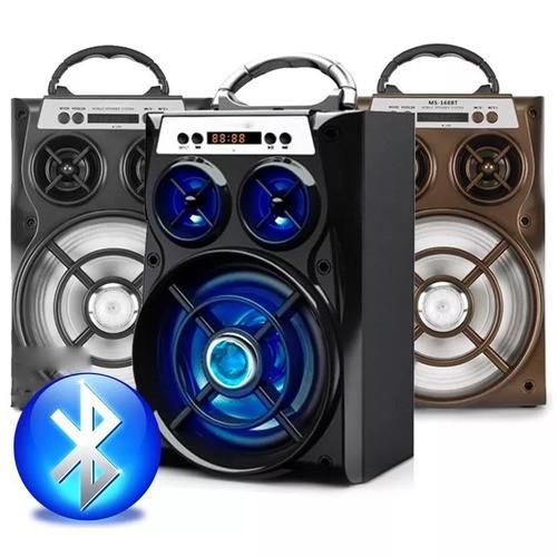 Caixa De Som Amplificada Usb Mp3 Radio Fm A-28 -ALTOMEX