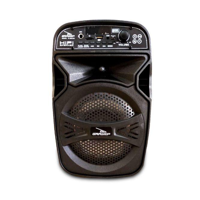 Caixa De Som Amplificada Via Bluetooth Microfone Controle D-BH6101
