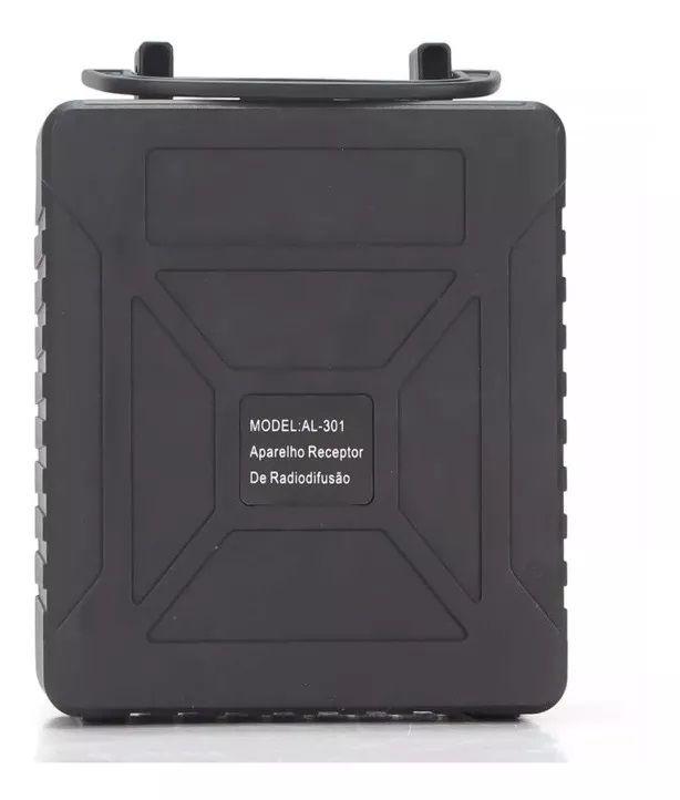 Caixa De Som SD USB Bluetooth AL-301- GRASEP