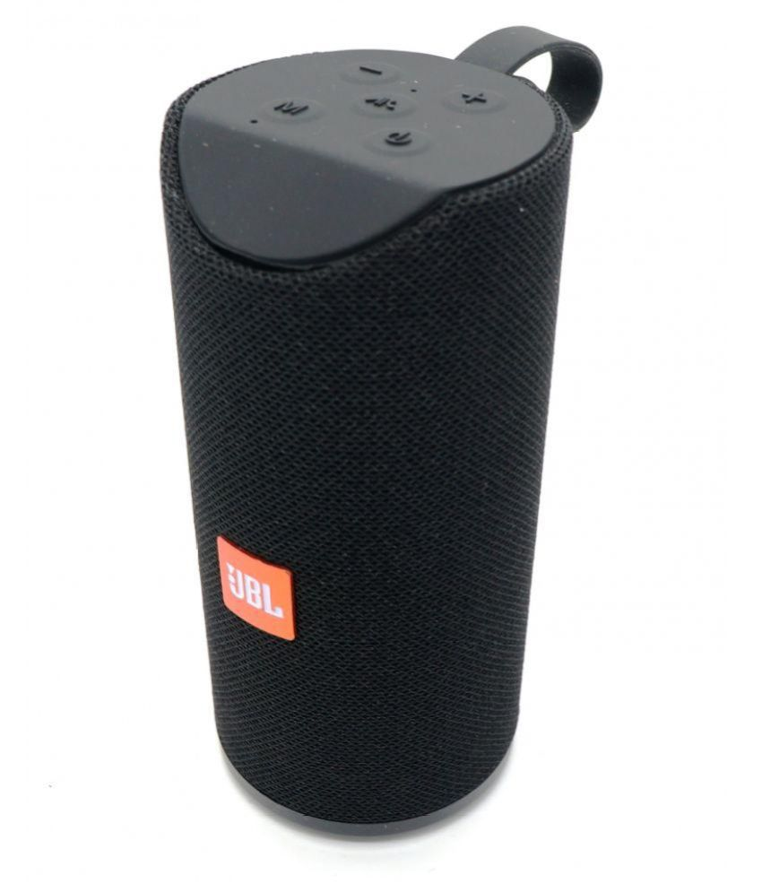 Caixa De Som Bluetooth Portátil Emborrachada Fm/usb/aux TG-113