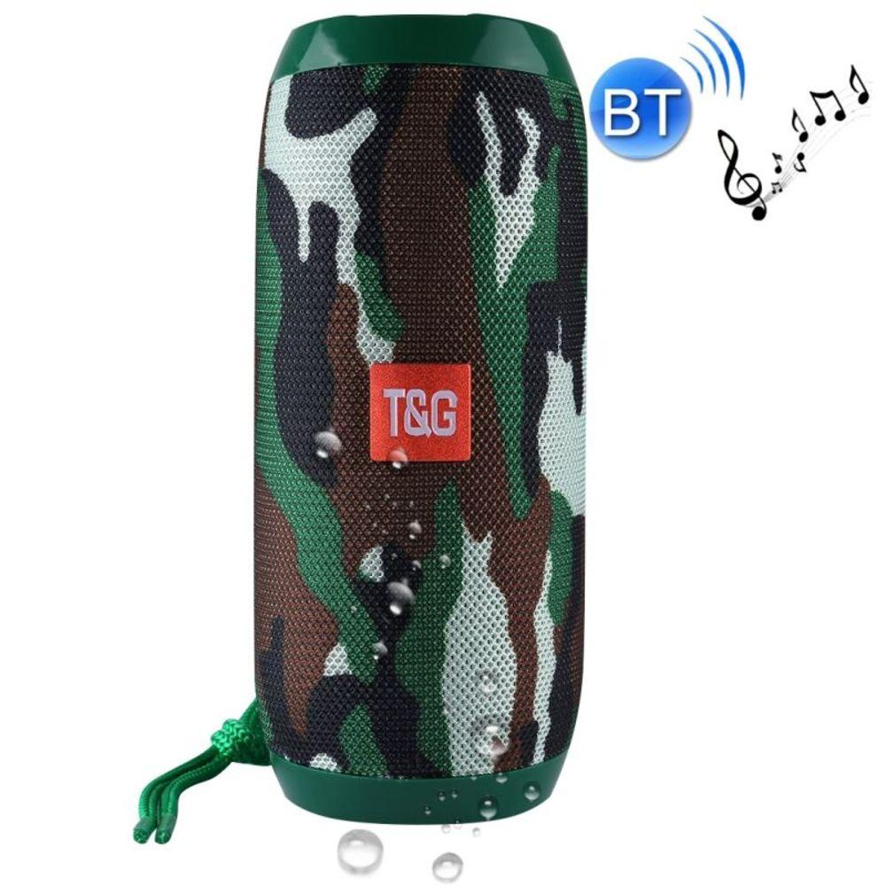 Caixa De Som Bluetooth Portátil Tecido Fm/usb/aux TG-117