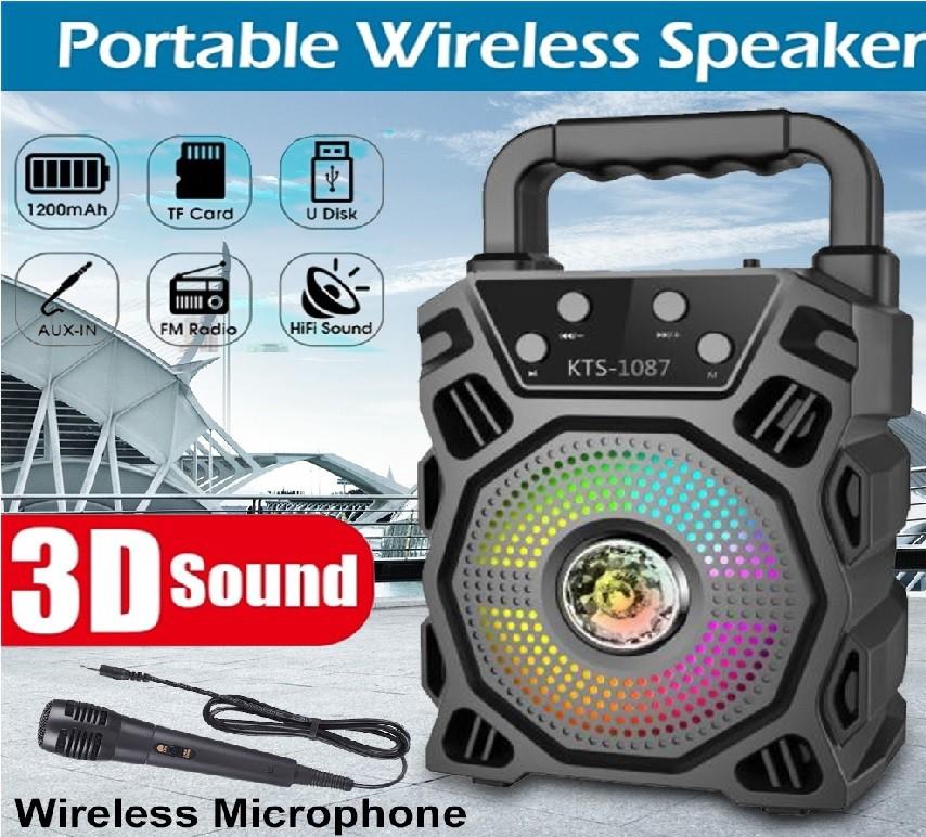 Caixa de som Bluetooth Speaker KTS 1087