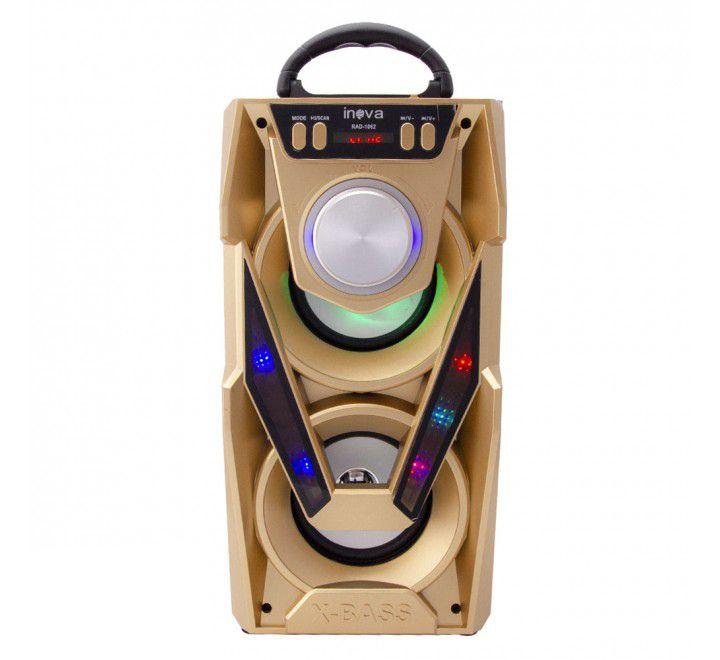 Caixa de Som e Rádio Portátil Inova RAD-1062