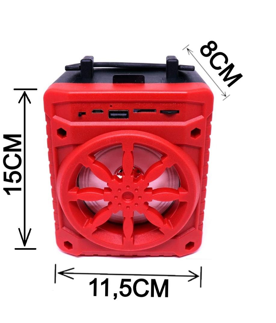 Caixa De Som SD USB Bluetooth AL-302- GRASEP