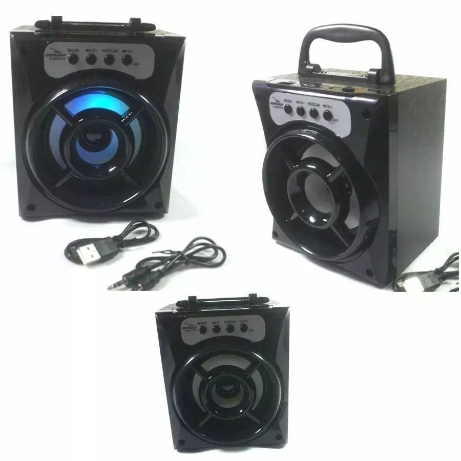 Caixa Som Bluetooth Portátil Grasep D-BH1018