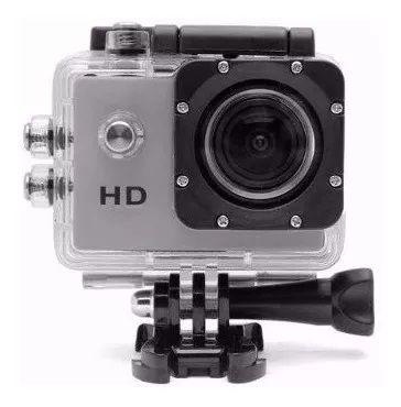 Câmera Action Go Full HD Sport Cam Microfone A Prova D'água
