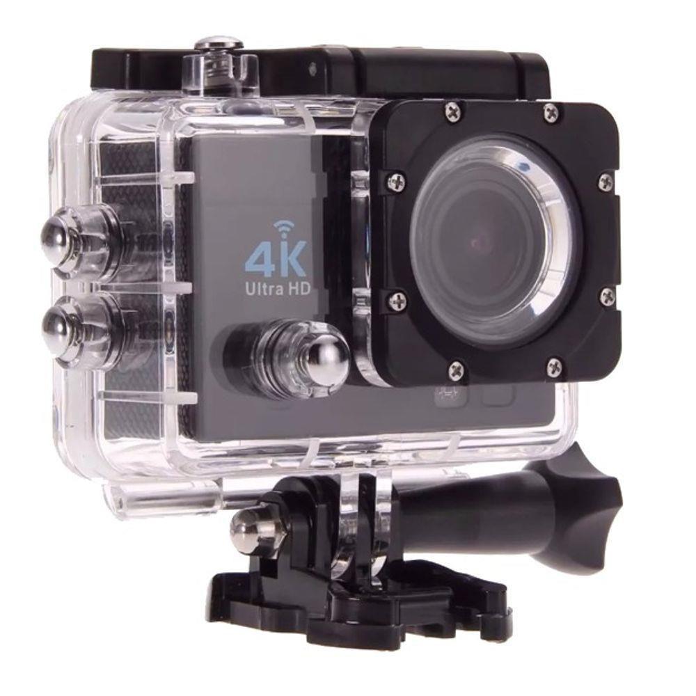 Câmera Action Go Ultra 4k Full HD Sport Cam Wifi A Prova D'água