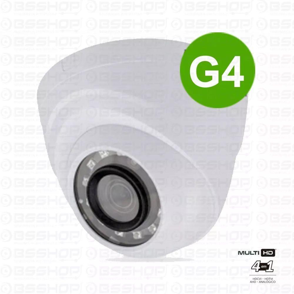 Camera Intelbras Infra Dome 10m Multi Hd Vhd 1010d G4 3,6mm