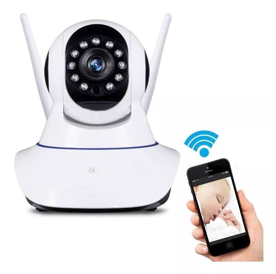Camera IP HD Wireless 2 Antenas