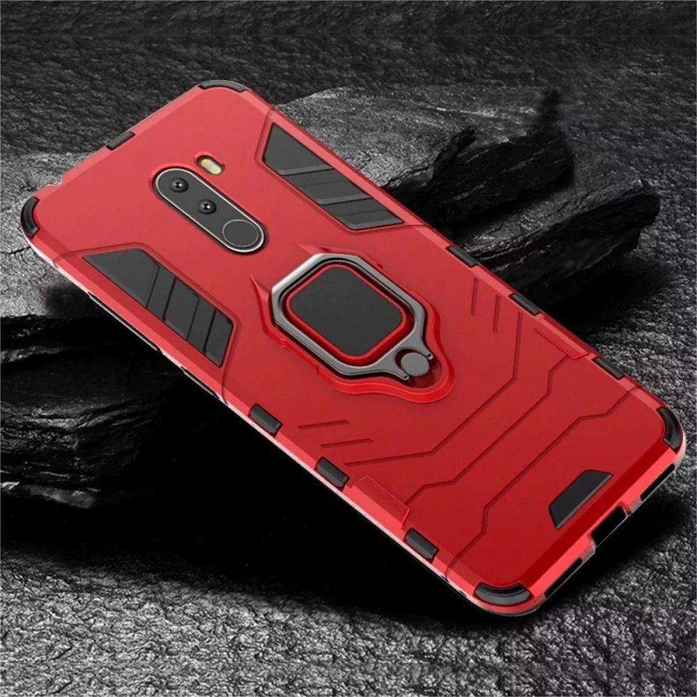 Capa Capinha Armadura C/ Anel Samsung A50 A60 A70