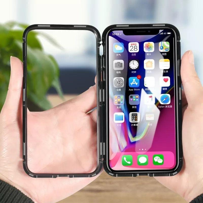 Capinha Case Magnética iPhone 6, 6 Plus, 7 8, 7 Plus X Xr Xs