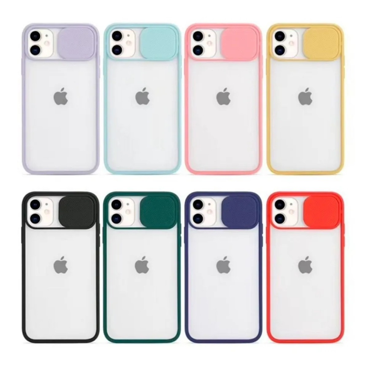 Capa Capinha Slide Proteção Câmera Iphone 12 12 mini 12 Pro Max