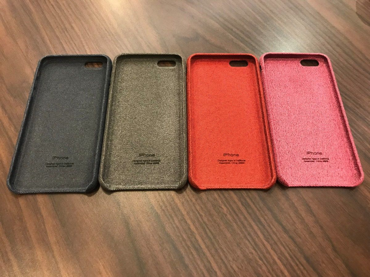 Capa Case Jeans Tecido Premium Iphone 6 6S