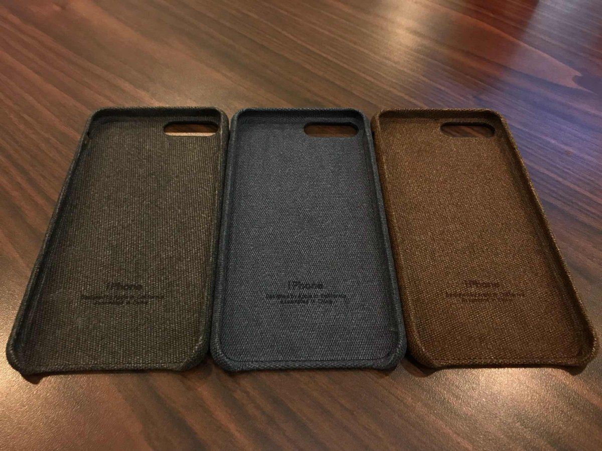 Capa Case Jeans Tecido Premium Iphone 7 Plus