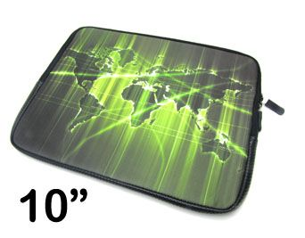 Capa Para Notebook Estampada 10 Mapa Mundi