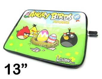 Capa para Notebook Estampada 13 Angry Birds