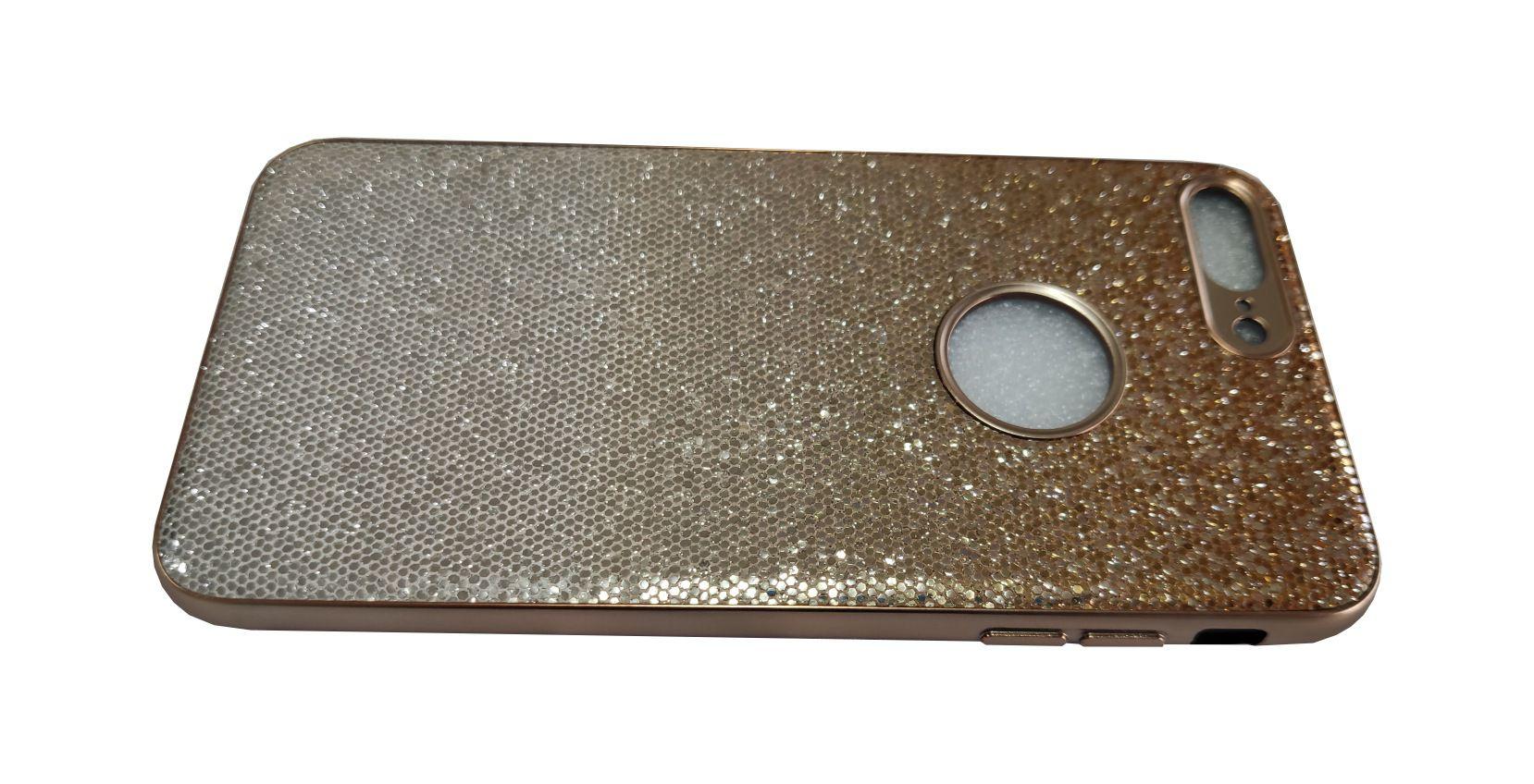 Capinha Anti-Impacto Escama Luxo Glitter Faísca