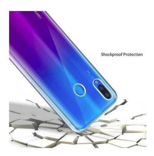 Capinha Anti-Shock + Película 5D Vidro Huawei P30 Lite, P30 Pro