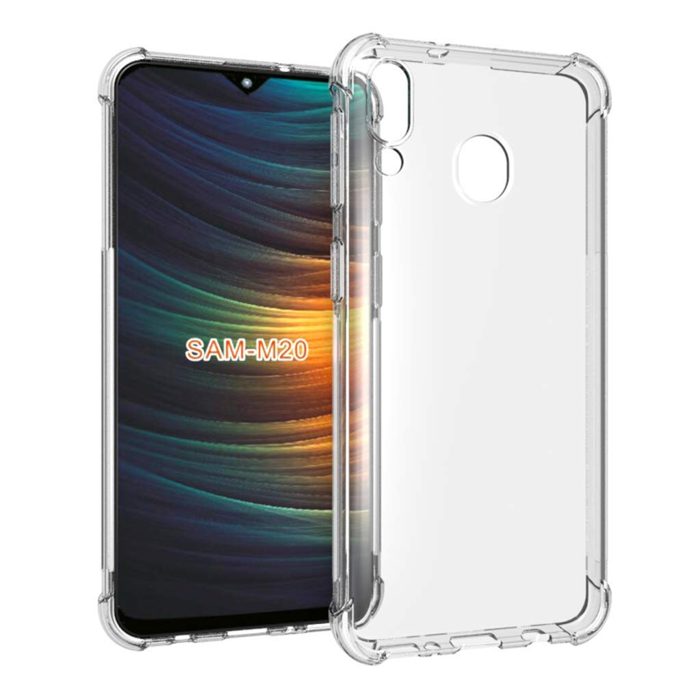 Capinha Anti-Shock + Película 5D Vidro Samsung A70 A80 A90