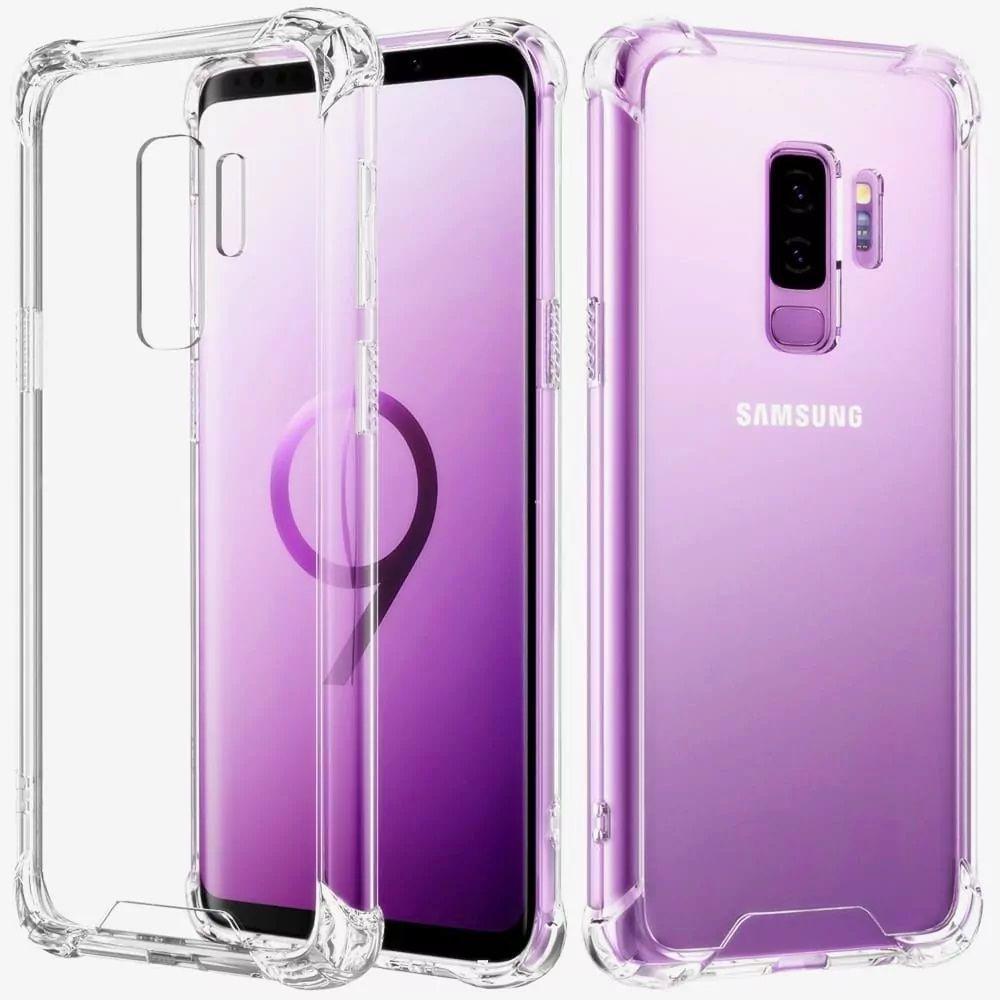 Capinha Anti-Shock + Película 5D Vidro Samsung S10, S10e Lite, S10 Plus