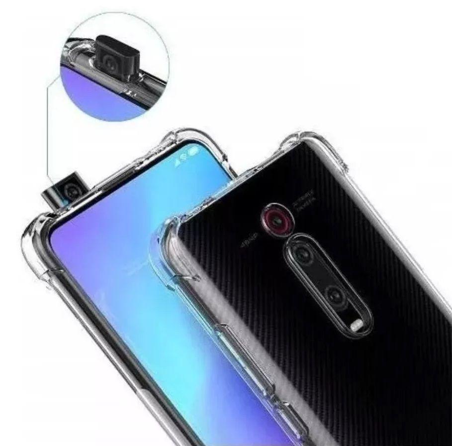 Capinha Anti-Shock + Película 5D Vidro Xiaomi Mi 9T, 9T Pro, K20, K20 Pro