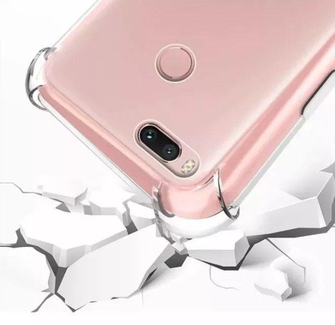 Capinha Anti-Shock + Película 5D Vidro Xiaomi Mi 8, Mi 8X, Lite, Pro