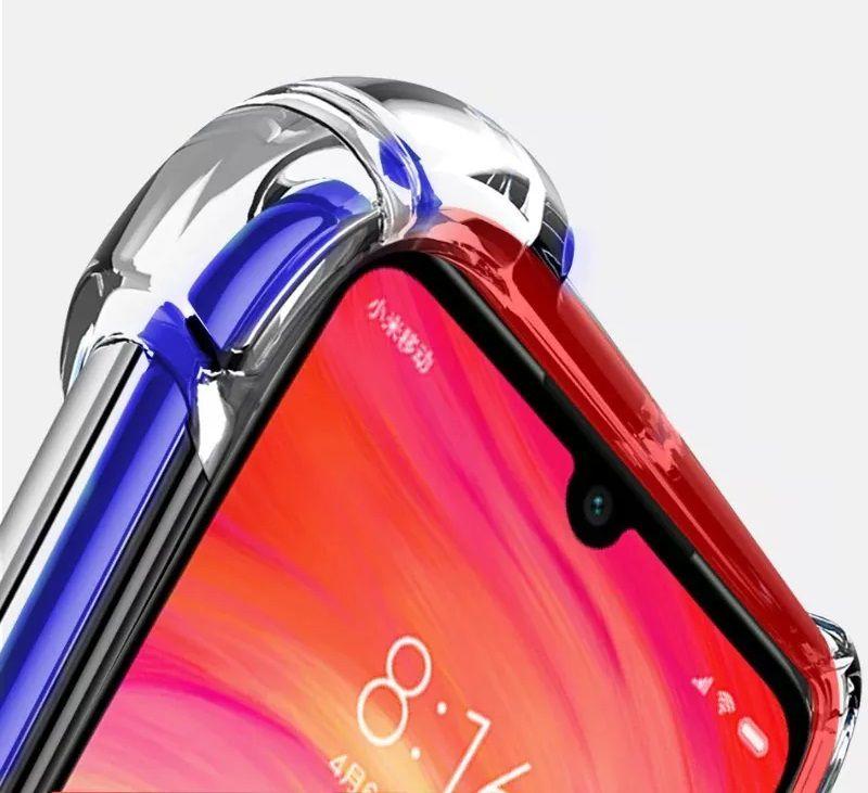 Capinha Anti-Shock + Película 5D Vidro Xiaomi Note 7