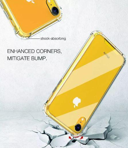 Capinha Anti Shock + Película Vidro Iphone 5 5s 5g SE