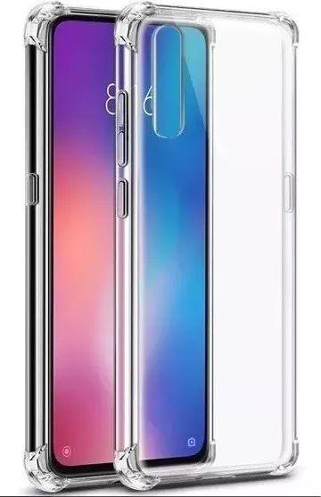 Capinha Anti-Shock + Película Vidro Temperado Xiaomi Mi 7, Mi 7A, Note 7