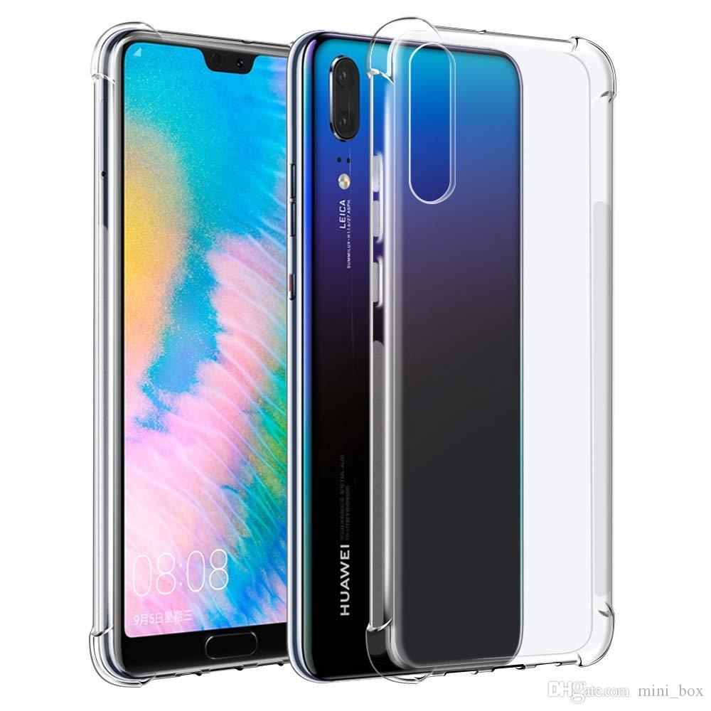 Capinha Anti-Shock Transparente Huawei P30 Lite P30 Pro