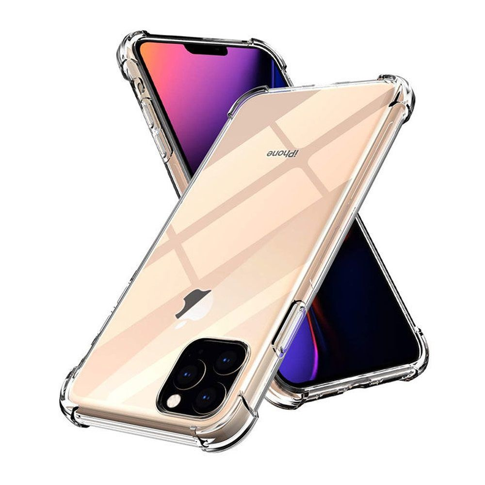 Capinha Anti-Shock Transparente iPhone 5s 6 7 8 Plus 11 X Xs Xr Xs Max
