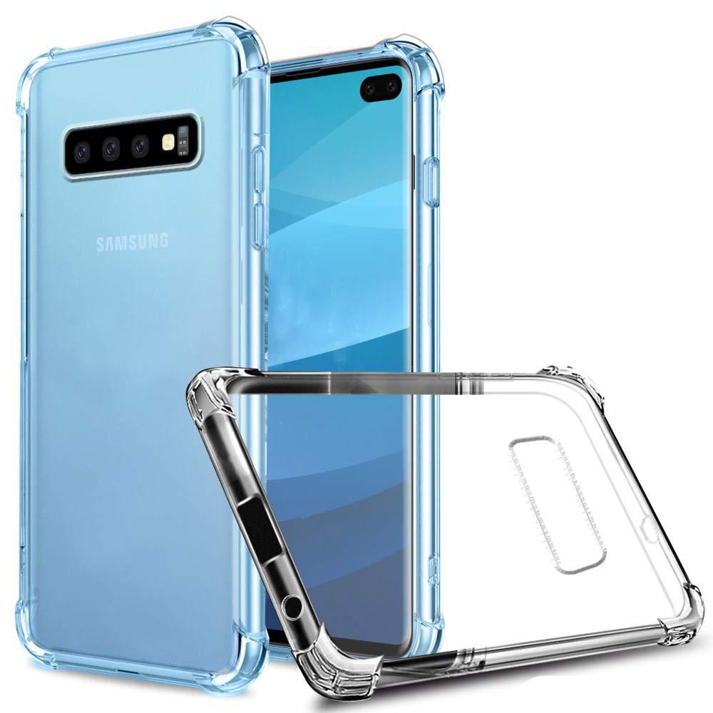 Capinha Anti-shock Transparente Samsung J4 J5 J6 Plus J7 Prime J8 2018 S8 S9 Plus S10