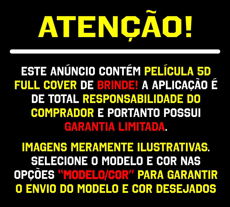 Capinha Armadura AntiShock Colorida + Película 5D Vidro Iphone 11, 11 Pro, 11 Pro Max